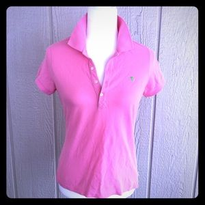 ABERCROMBIE & FITCH Pink Polo  NWT